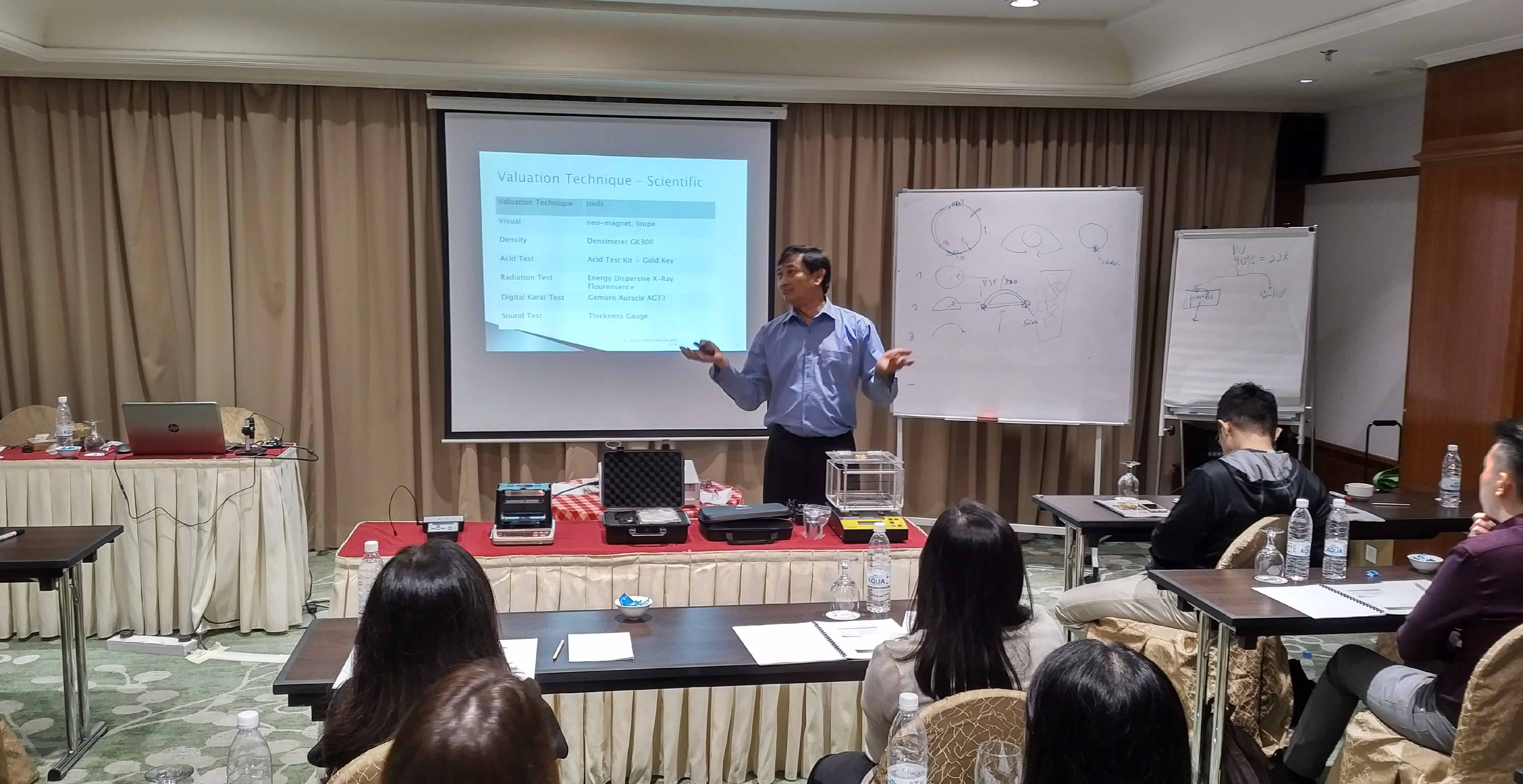 Validation of Precious Metal Authenticity Workshop【贵金属鉴定培训】